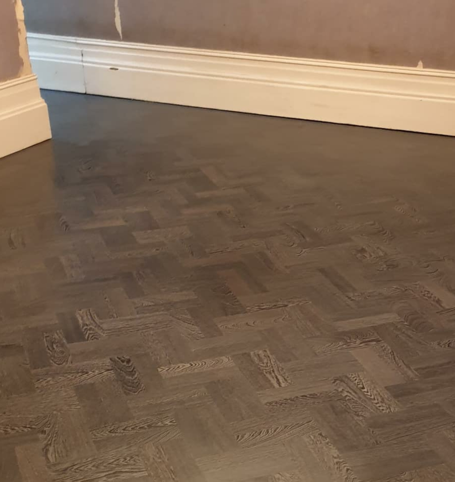 Parquet Floor Restoration After