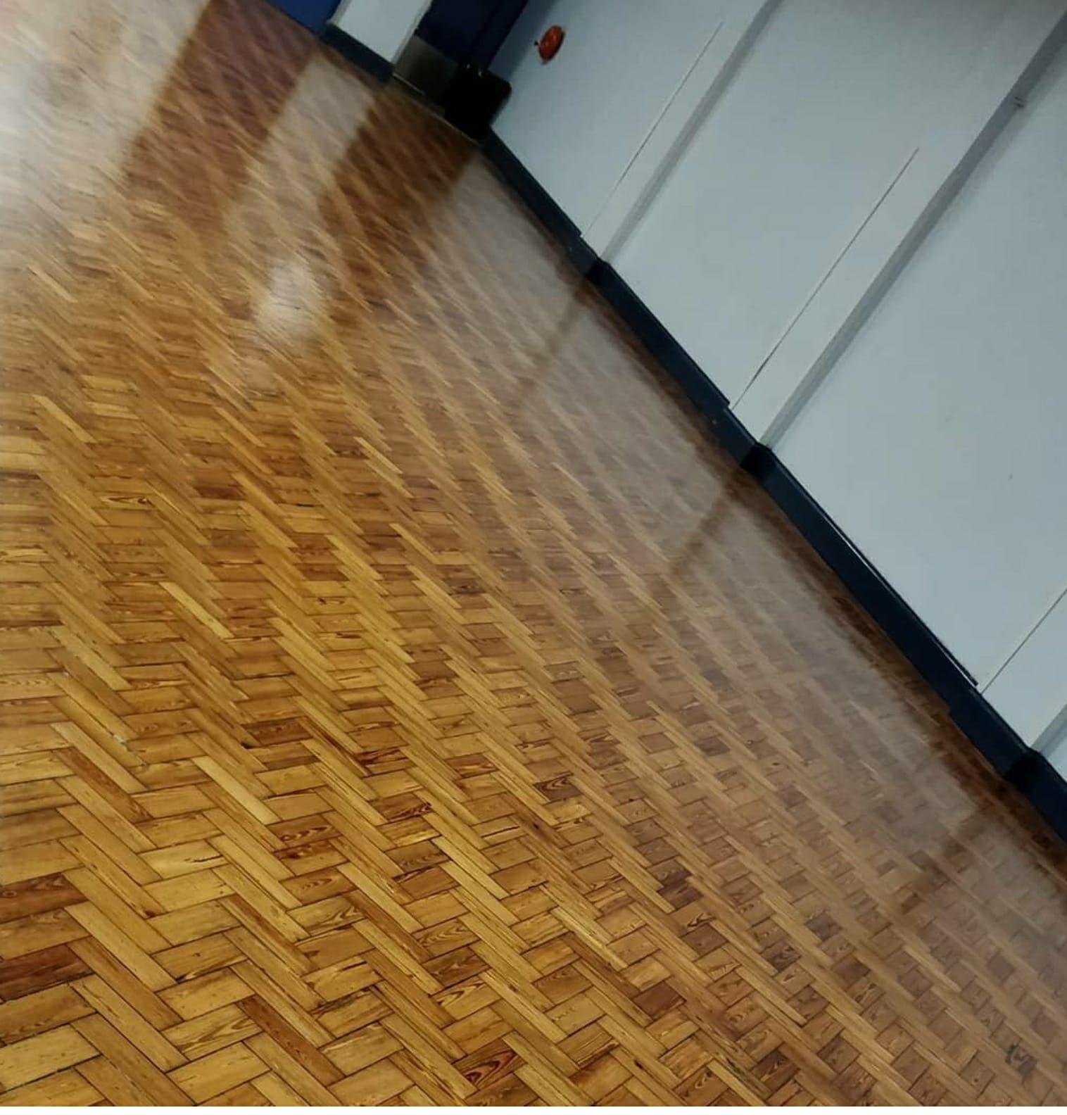 Parquet Floor Sanding After