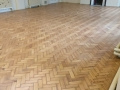 Parquet Floor Specialist Sanding After