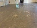 Parquet Floor Specialist Sanding Before